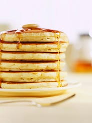 Enjoy a pancake brunch and learn the process of making maple syrup at Teatown.