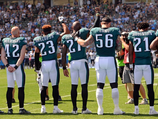 USP NFL: PHILADELPHIA EAGLES AT LOS ANGELES CHARGE S FBN LAC PHI USA CA