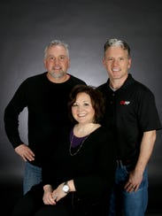 Brian Mick (from left to right), Carmie Mick and Travis