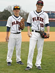 Blackman's Noah (left) and Derick Junker.