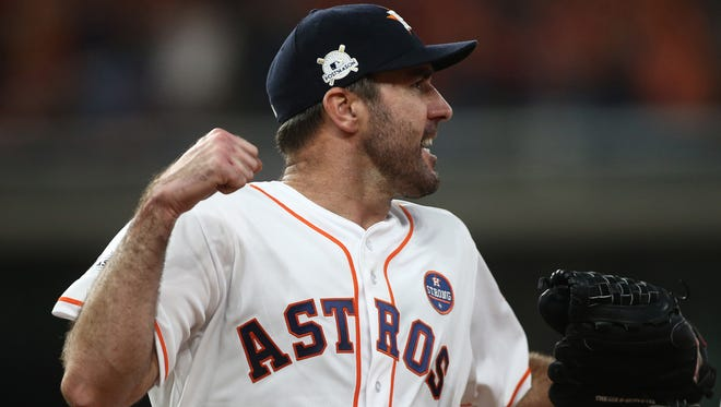 Justin Verlander allowed just one earned run in 16 innings for Houston in the ALCS.
