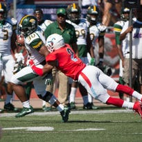 Same old story for winless Delaware State, which drops 15th straight football game