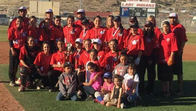 The Cobre High softball team won its own tourney this past weekend. The Lady Indians went 3-0 and cruised past Los Alamos on the championship round.