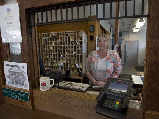 Postmaster Cindy Mason