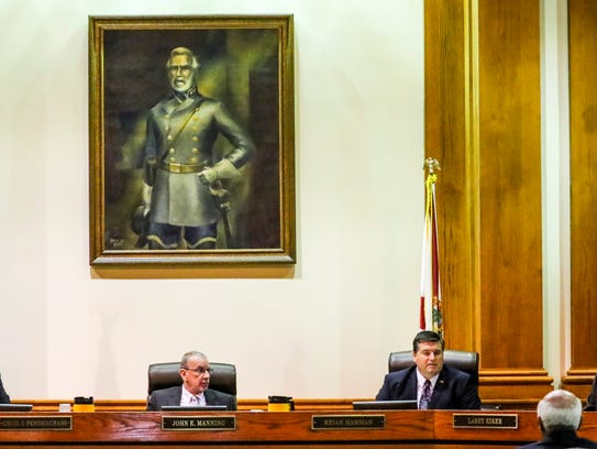 Lee County Commission takes public comments that included