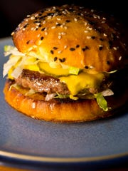 George Lambertson's ode to the classic cheeseburger at Arts Riot on Pine Street in Burlington's South End.