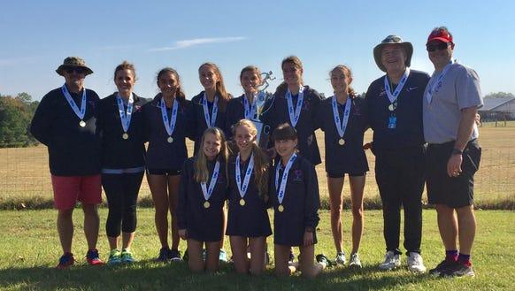 Riverside's girls won the Class AAAAA cross country