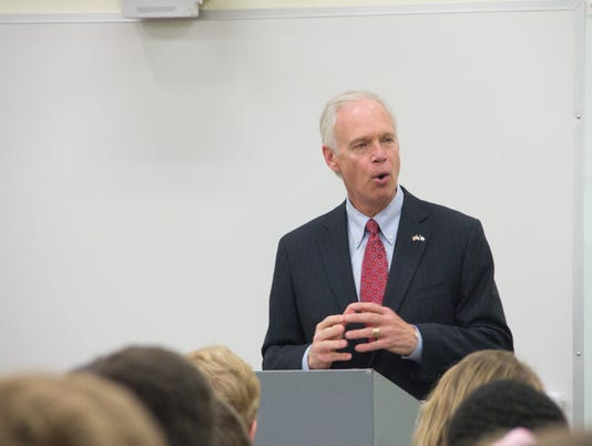 Ron Johnson at Wauwatosa West High School