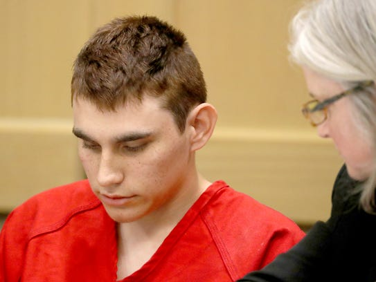 In this Feb. 19, 2018 photo, Nikolas Cruz appears in