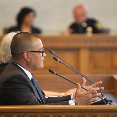 Cincinnati Police Chief Jeffrey Blackwell addresses
