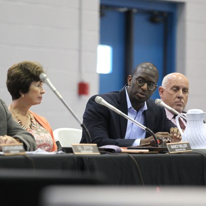 Tallahassee Mayor Andrew Gillum speaks at a June budget