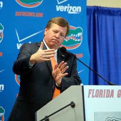 NCAA Football: Florida-Press Conference