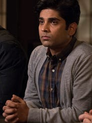 "Vandit Bhatt acts in a scene from ""Quantico."""