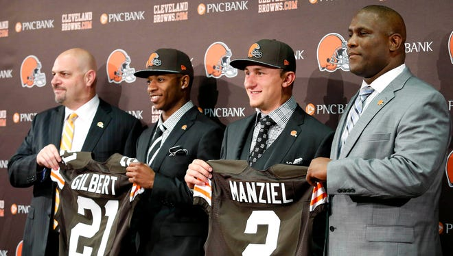 QB Johnny Manziel and CB Justin Gilbert should form a nice foundation for the Browns' future.