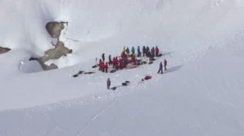 Injured climbers rescued after fall on Mt. Hood