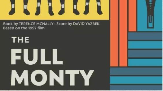Full Monty poster