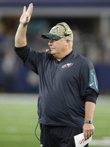 Eagles coach Chip Kelly.