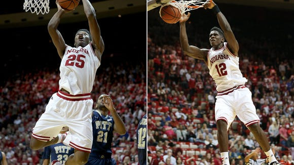 Playing Emmitt Holt (left) and Hanner Mosquera-Perea (right) together might be appealing, but is it wise?