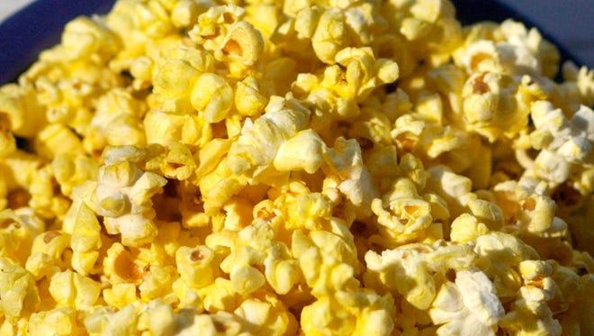 Mmmmm hot buttery popcorn