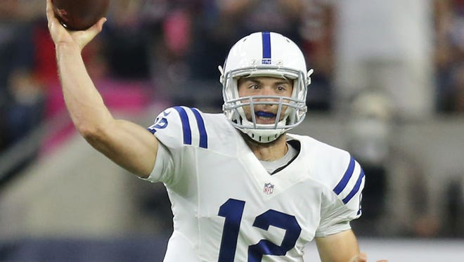 Colts quarterback Andrew Luck's jersey sales at Dick's Sporting Goods stores nationwide have surpassed Peyton Manning's.