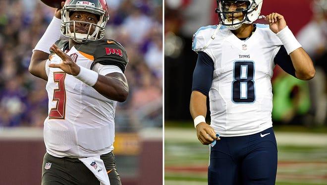 Jameis Winston and Marcus Mariota made their preseason debuts this past weekend.