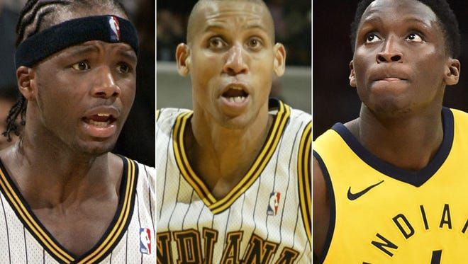 The top Pacers seasons by a player in the franchise's NBA history include Jermaine O'Neal, Reggie Miller and Victor Oladipo.