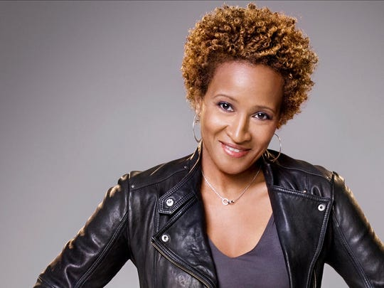 Wanda Sykes visits Hoyt Sherman Place on March 21.