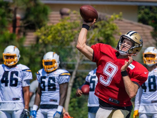 Aug 15: NFL Training Camp Rams Saints