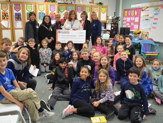 Janice Skibinski's class at Hoover Elementary received