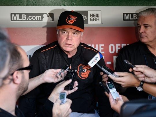 Buck Showalter has been fired as the Baltimore Orioles' manager. AP FILE PHOTO