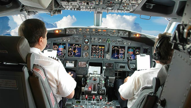 The Air Lines Pilots Association says 21,000 pilots are expected to retire from large U.S. airlines in the next decade.