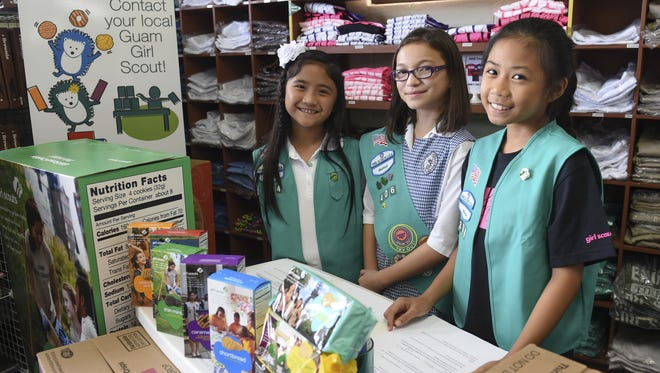 Guam Girl Scouts purchased and sold 74,000 boxes of cookies in 2015. This year, they plan to sell 94,000 boxes to island residents.