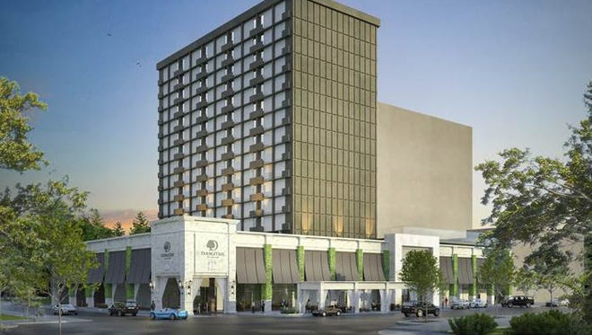 Half of the renovations, estimated between $7 to $8 million, are finished as the South Adam Street hotel continues to operate through the renovations.