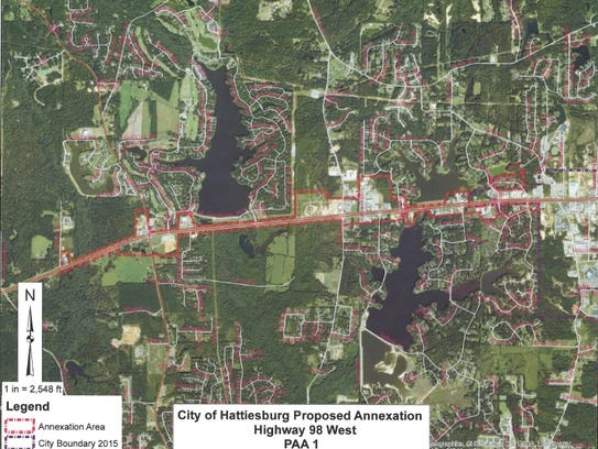 Annexation Reactions Mixed Among Officials - Us annexed land map