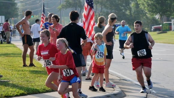 Hundreds of runners take part each year in the Kiwanis Firecracker 5K in Weaverville, which is Monday, July 4.