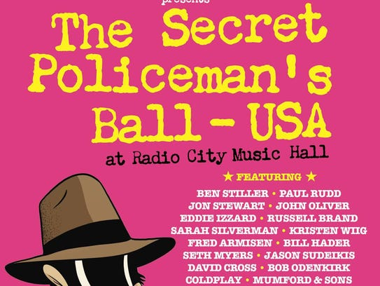 The Secret Policeman's Ball - USA DVD cover