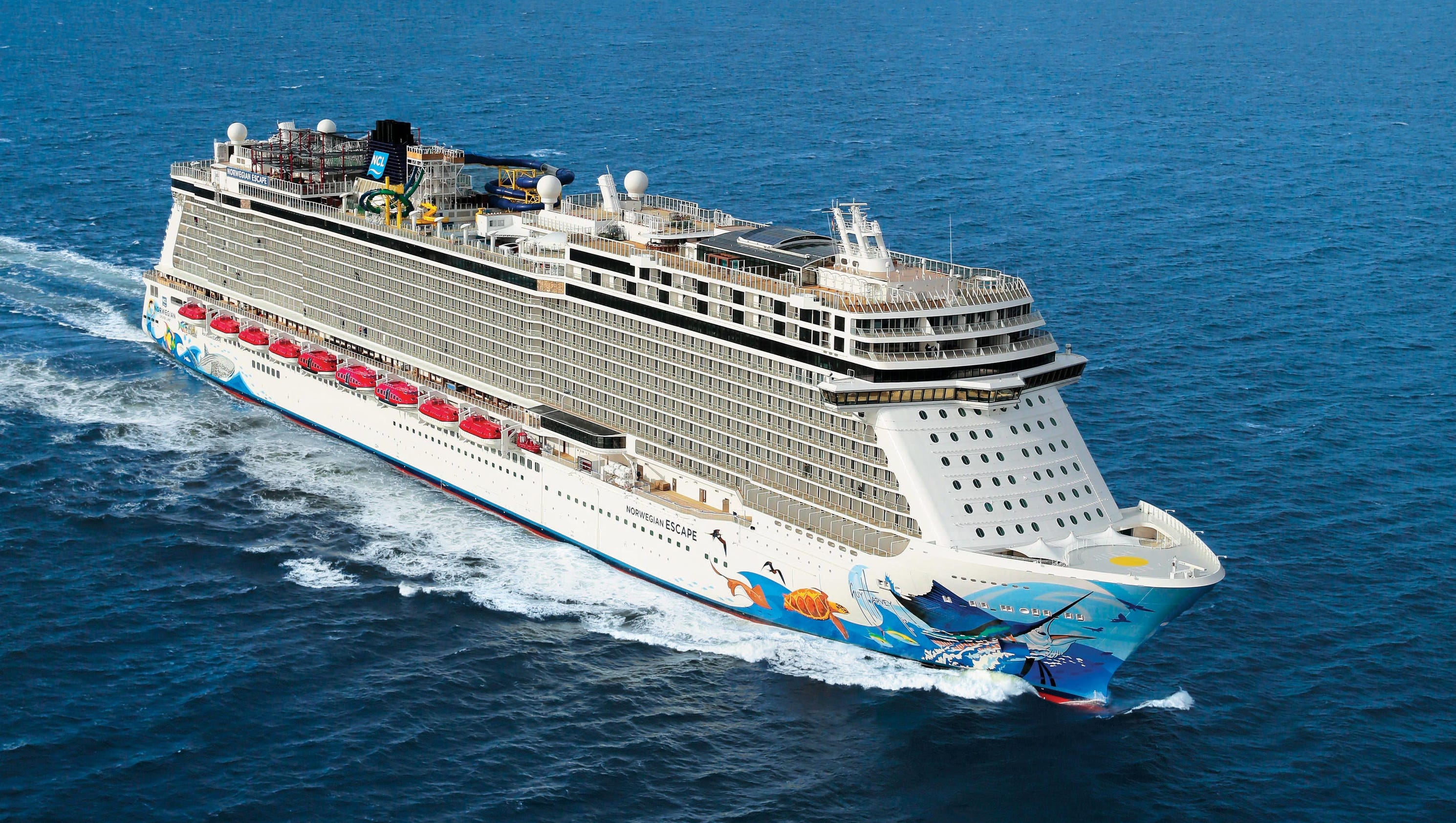 First Look Inside Norwegian Cruise Line S Giant New Ship