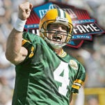 A day after retired NFL quarterback Brett Favre was voted into the NFL Hall of Fame, the Wall Street Journal is reporting that he is a pitchman for a company now being investigated by the Justice Department.