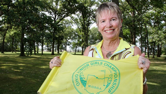 Taken in 2012, Diana Morgan remains the unofficial historian of the Ohio Junior Girls Championship to be held at the Marion Country Club next week. The tournament was founded in 1977 by Morgan's good friend, the late Kay Wigton.