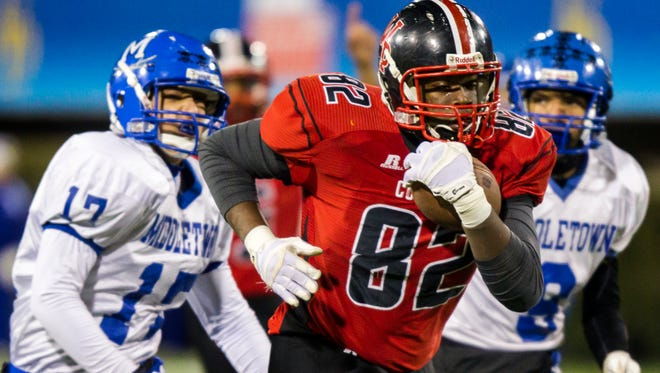 William Penn's Frank Burton was one of five Colonials named to the All-State football teams announced Tuesday.