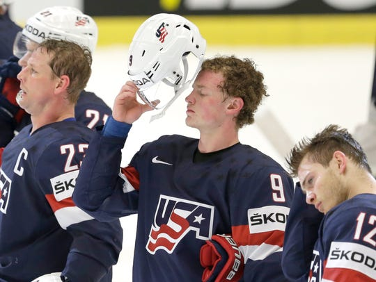 18-year-old Jack Eichel impresses NHL teammates at world championships