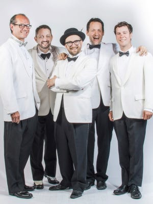 The gypsy swing of Velvet Caravan plays The Big Tent Sunday at the jazz festival.