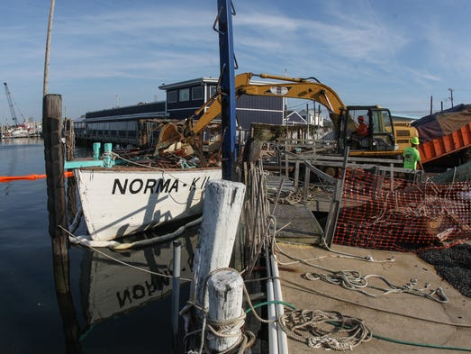 Pt pleasant beach party boat norma k ii laid to rest for Point pleasant fishing