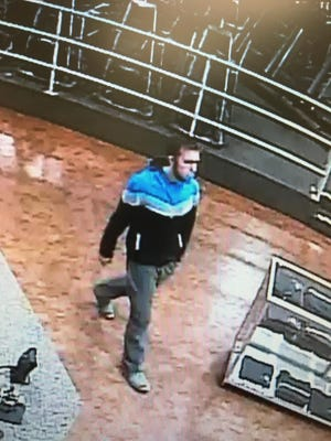 Verona police are asking for help identifying this man at Platinum Fitness Jan. 12, 2017.