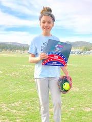 For Girls 11-12, Destiny Luevano won  Running and All-Around.