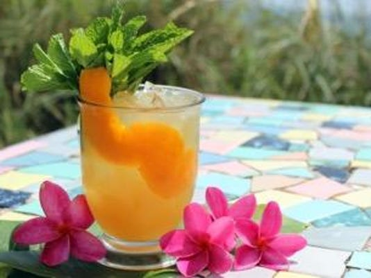 Cheers Tiki Drinks Add Exotic Touch