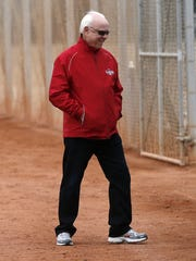 Walt Jocketty will stay on with the Reds as director