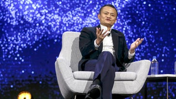 A rags-to-riches tale for Alibaba founder