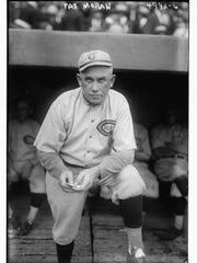 Pat Moran, manager, Cincinnati Reds, 1919-1923. Photo 1919. 1919 World Series champions