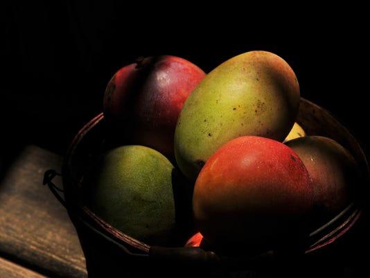 Tidwell Groves Mango stand